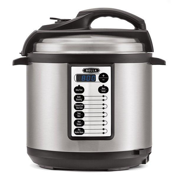 Bella 6-quart Pressure Cooker