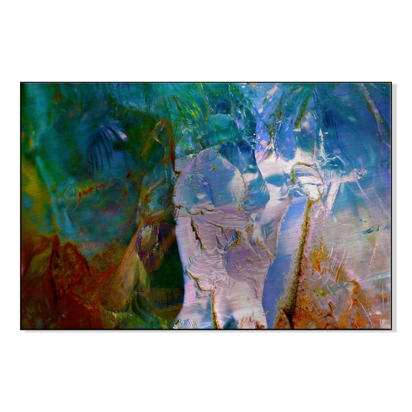 Gallery Direct 'Permeated Spectrum II' Andreas Langley Printed on Metal Wall Art 16521237