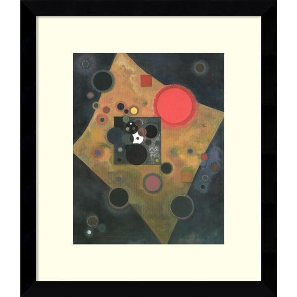Wassily Kandinsky 'Akzent in Rosa' Framed Art Print 13 x 15-inch
