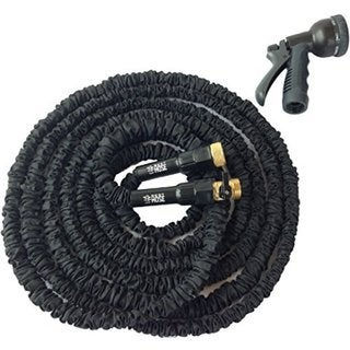 Best Hose Black 50-foot Extra Durable Expandable Garden Water Hose