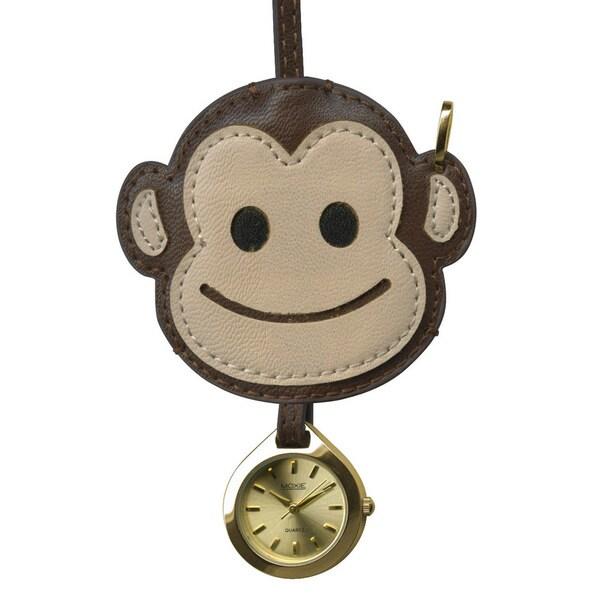 Dakota Moxie Monkey Hanging Purse Charm Clock