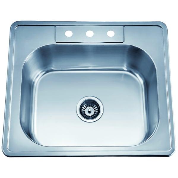 Dawn Top Mount Single Bowl Sink