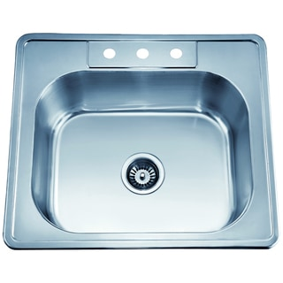 Dawn Top Mount Single Bowl Sink