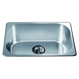 Dawn Top Mount Single Bowl Bar Sink