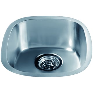 Dawn UndermountStainless Steel Single Bowl Bar Sink