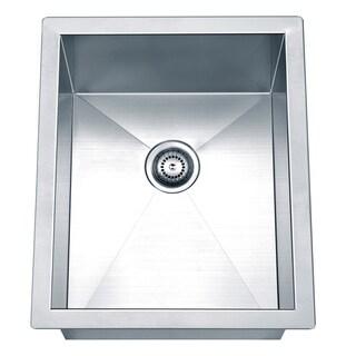 Dawn Undermount Square Single Bowl Bar Sink