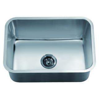 Dawn Undermount Stainless Steel Single Bowl Sink