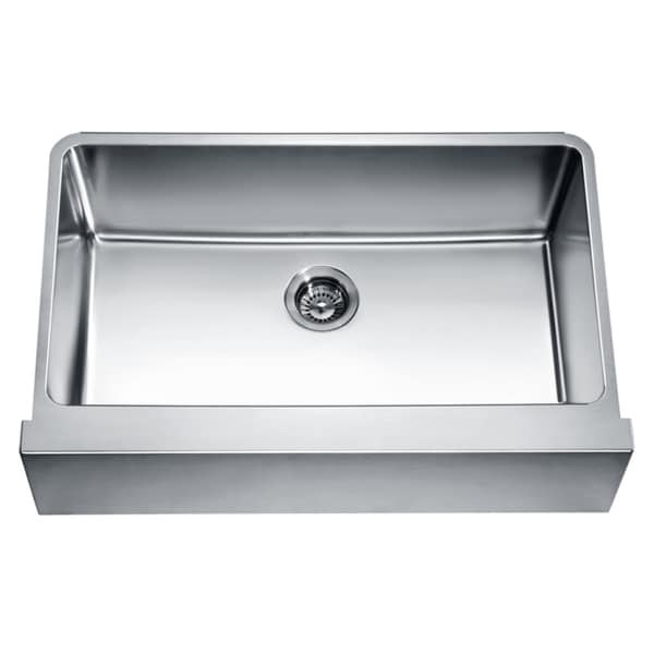 Kindred Qsfs31b 20 Gauge Apron Front Farmhouse Stainless: Apron Sink