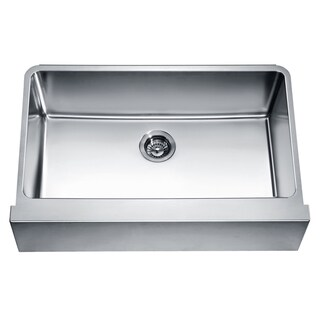 Dawn Undermount Single Bowl with Straight Apron Front Sink