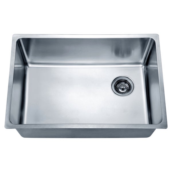 Dawn Undermount Single Bowl Sink with Rear Corner Drain
