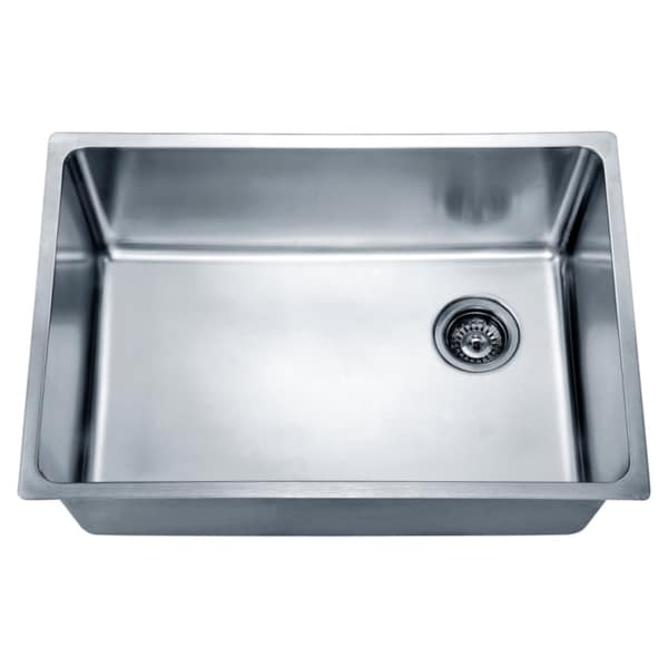 Dawn Undermount Single Bowl Sink With Rear Corner Drain 17764707 Shopping