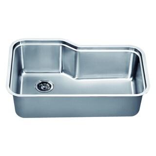 Dawn Undermount Single Bowl Sink with Side Drain