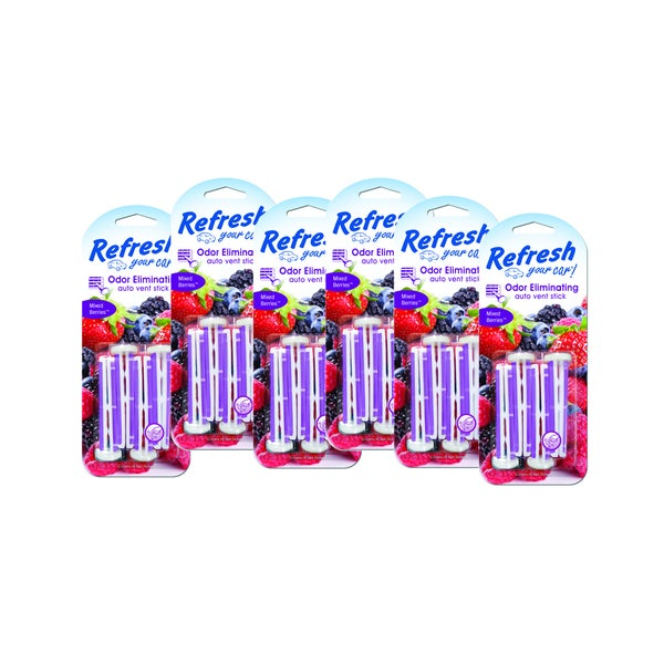 Refresh Your Car Vent Stick 6 Pack
