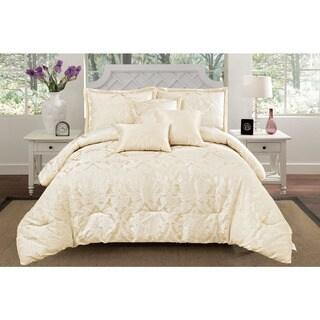Jacquard Oxford 6-piece Comforter Set