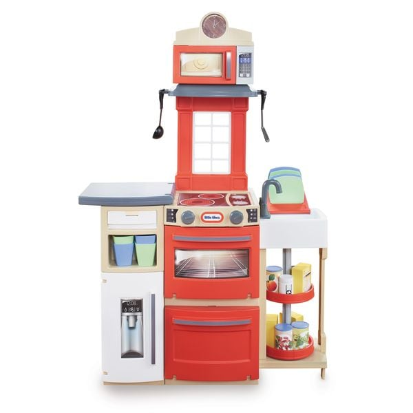 Red Cook 'n Store Kitchen Play Set