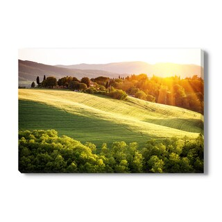 Tuscany Italy Landscape on Canvas Gallery Wrap