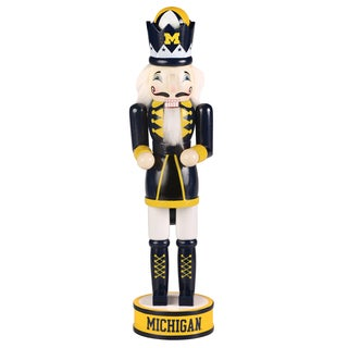 Forever Collectibles Michigan Wolverines 14-inch Collectible Nutcracker