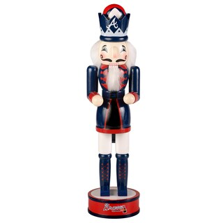 Forever Collectibles Atlanta Braves 14-inch Collectible Nutcracker
