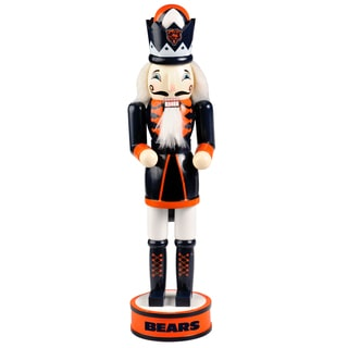 Forever Collectibles NFL Chicago Bears 14-inch Collectible Nutcracker