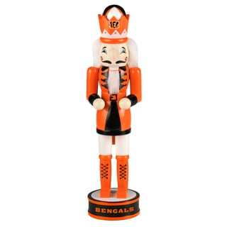 Forever Collectibles NFL Cincinnati Bengals 14-inch Collectible Nutcracker