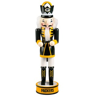 Forever Collectibles NFL Green Bay Packers 14-inch Collectible Nutcracker