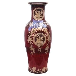 Designer Large Porcelain Floor Vase