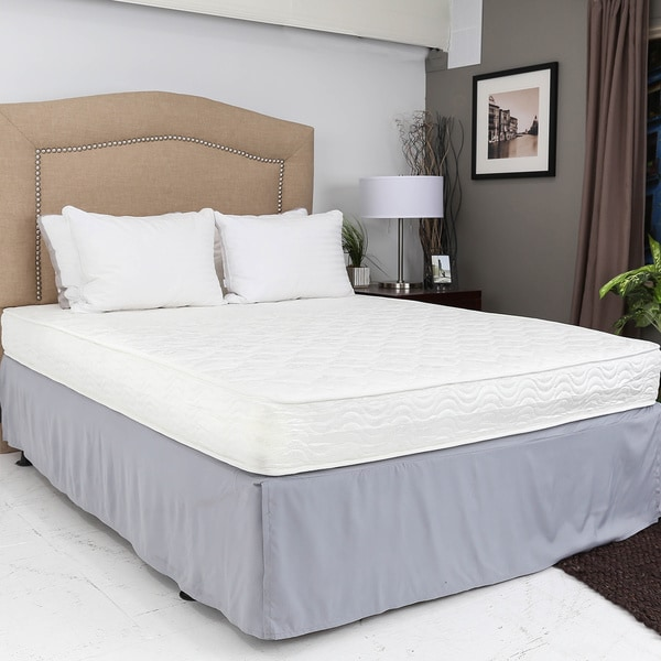 Somette 7-inch Full-size Pocketed Coil Mattress