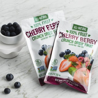 Sensible Foods Crunch Dried Cherry Berry Blend (Pack of 48)