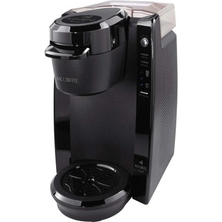 Mr.Coffee 24-ounce Black Single Cup Keurig K-Cup Brewing System