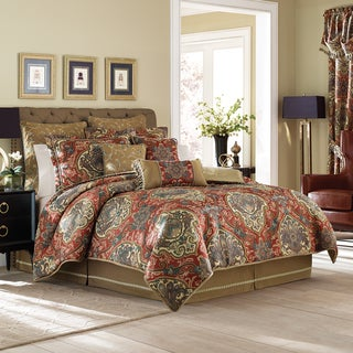 Croscill Orleans Red 4-piece Comforter Set