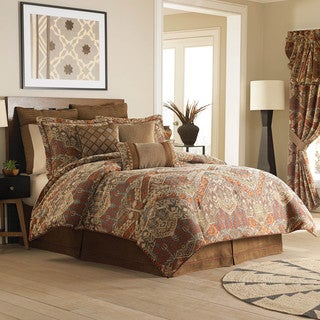 Croscill Salida Brown 4-piece Comforter Set