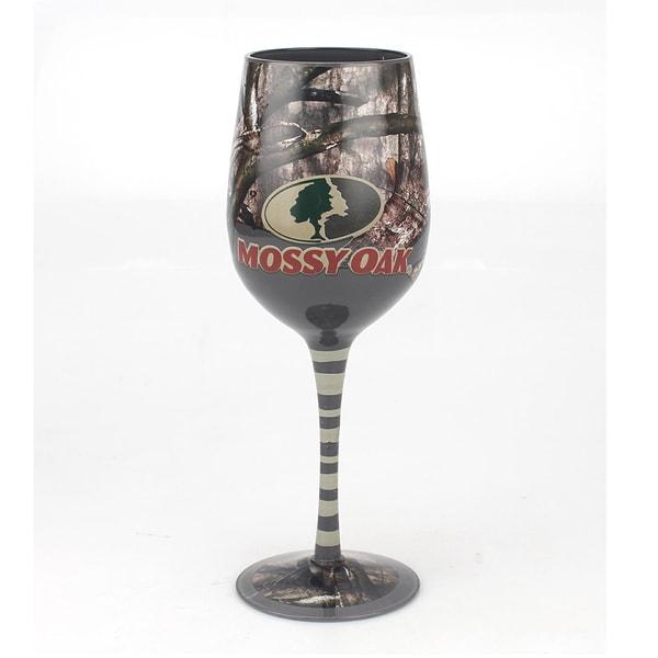 Mossy Oak Green Wine Glass (Set of 4)