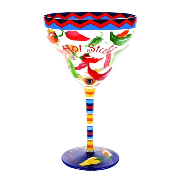 Hot Stuff Margarita Glass (Set of 4)