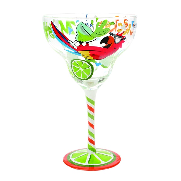 Parrot Margarita Glass