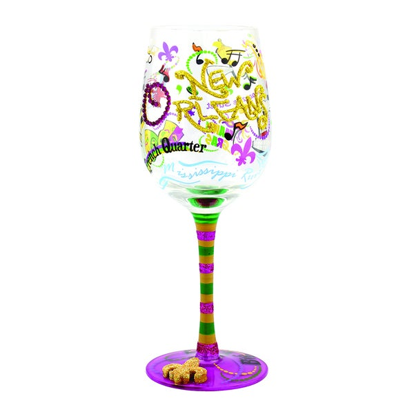 New Orleans Wine Glass (Set of 4)