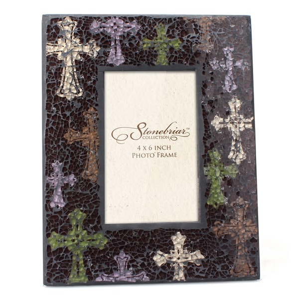 Multi Cross Mosaic Picture Frame