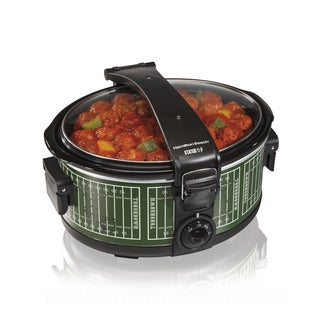 Hamilton Beach 33462 Stay or Go® 6-quart Portable Slow Cooker