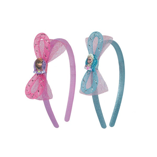 Disney Frozen Girls' 2-Pack Anna and Elsa Headband