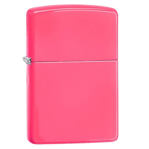 Zippo Classic Neon Pink Lighter