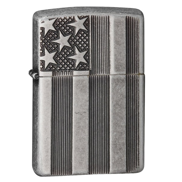 Zippo Classic US Flag Deep Carve Lighter