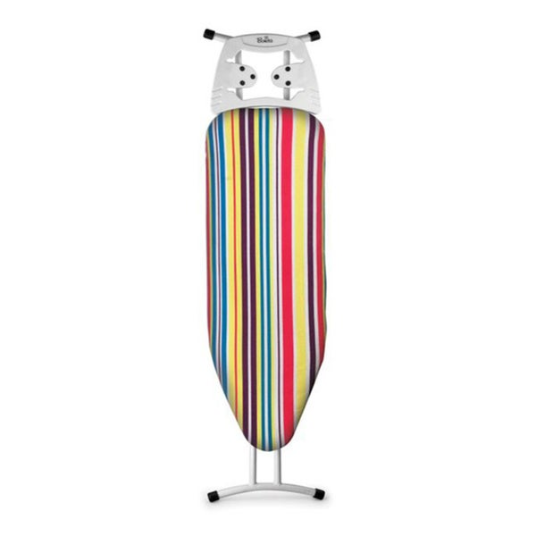 Neu Metallo Multi-colored Striped Ironing Board