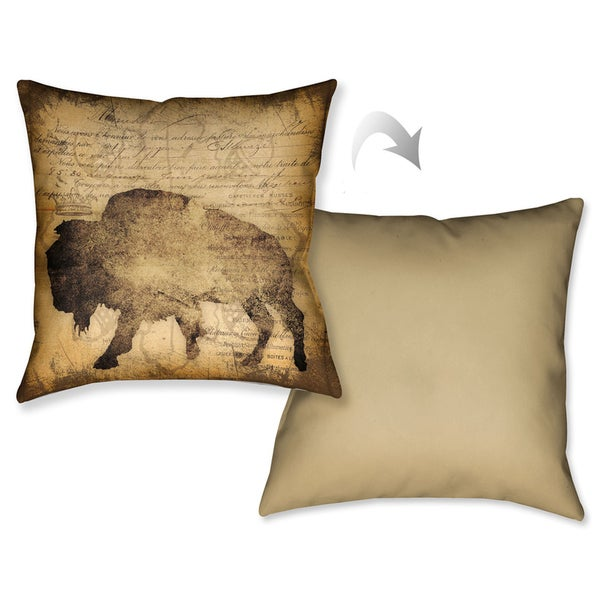 Laural Home Out West Decorative 18-inch Throw Pillow