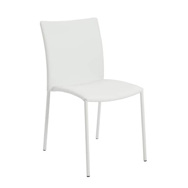 Naruto White White Side Chairs (Set of 4)
