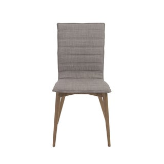 Yoland Grey/ Walnut Side Chairs (Set of 2)