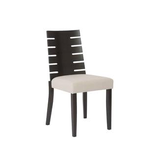 Rinaldo Sand/ Wenge Side Chairs (Set of 2)