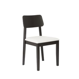Claudius White/ Wenge Side Chairs (Set of 2)