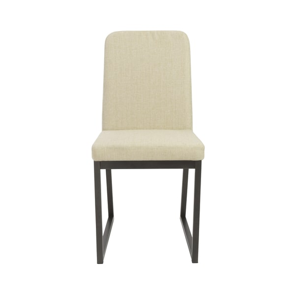 Macbeth Oat/ Black Side Chairs (Set of 2)