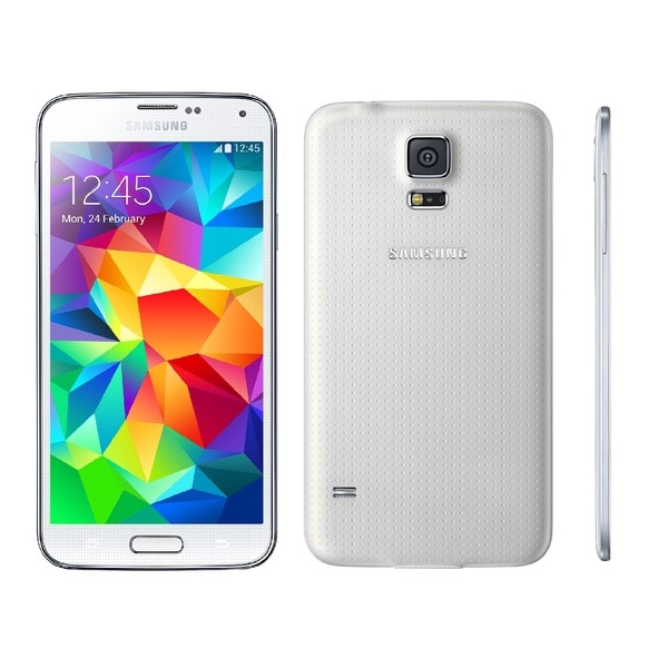 Samsung Galaxy S5 G900A 16GB Unlocked GSM Certified Refurbished Cell Phone - White