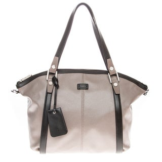 Tod's Medium Coated Canvas Shoulder Bag