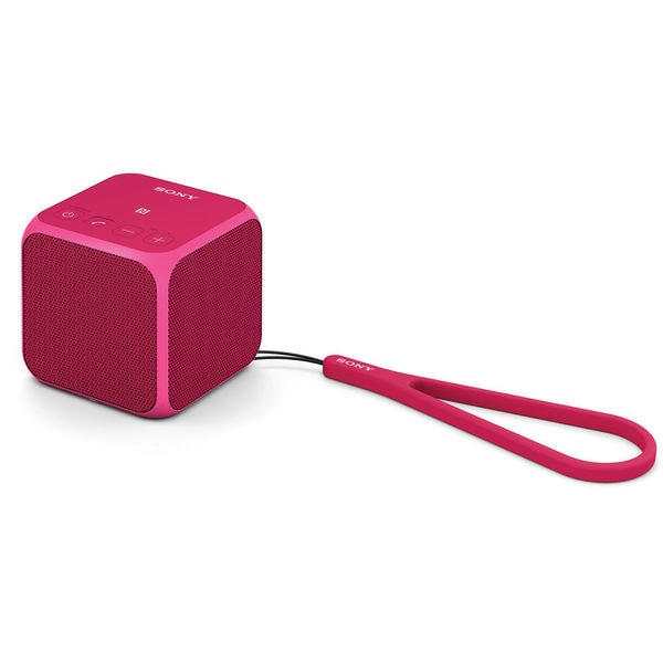 Sony SRS-X11 Ultra-Portable Bluetooth Speaker (Pink)